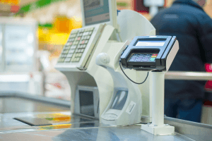 Old PoS System Grocery Store